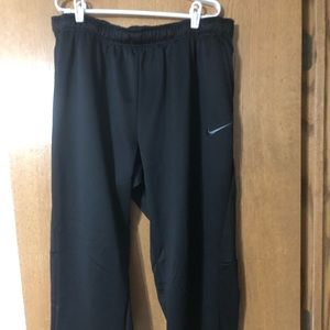Men's XXL black nike sweats